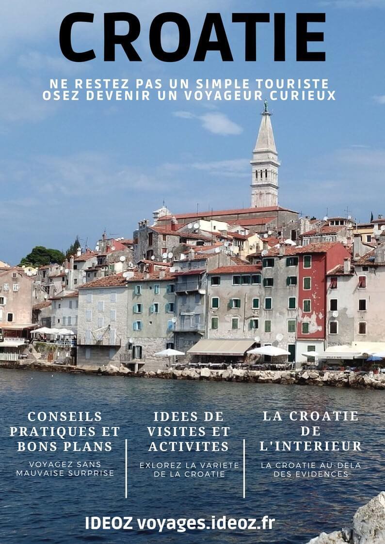 guide voyage Croatie ideoz