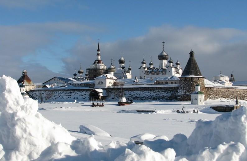 iles solovki en Russie