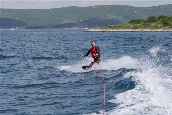 kneeboard zadar boat adventures en Croatie