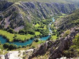 krupa riviere croate en lika senj