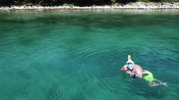 snorkeling dans l'Adriatique en Croatie dans l'archipel de zadar boat adventures