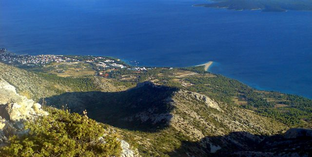 vidova gora point culminant de l'île de Brac