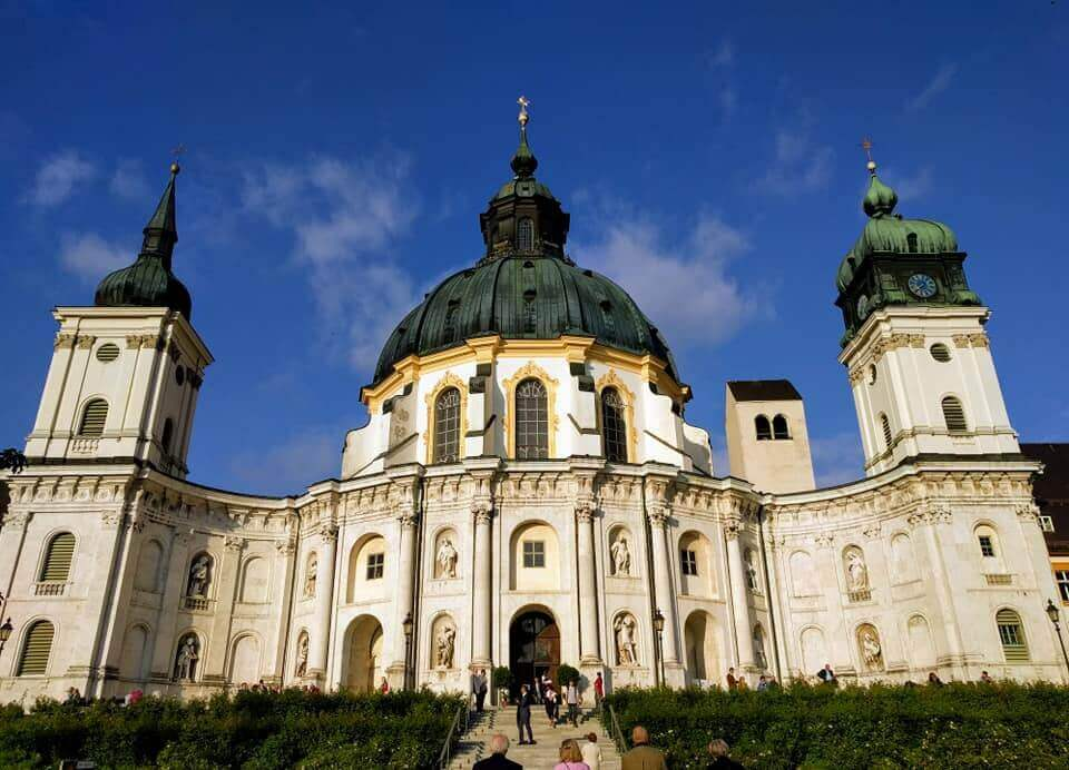 Abbaye d'Ettal en Haute Bavière