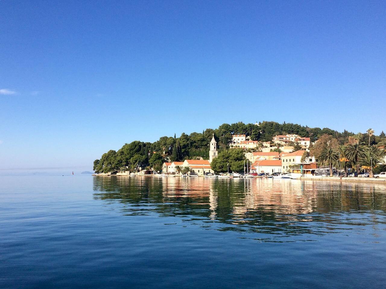 Cavtat en Dalmatie
