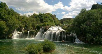 Chutes circulaires du parc national Krka