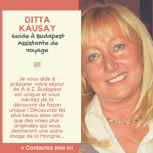 Ditta Kausay guide francophone à budapest