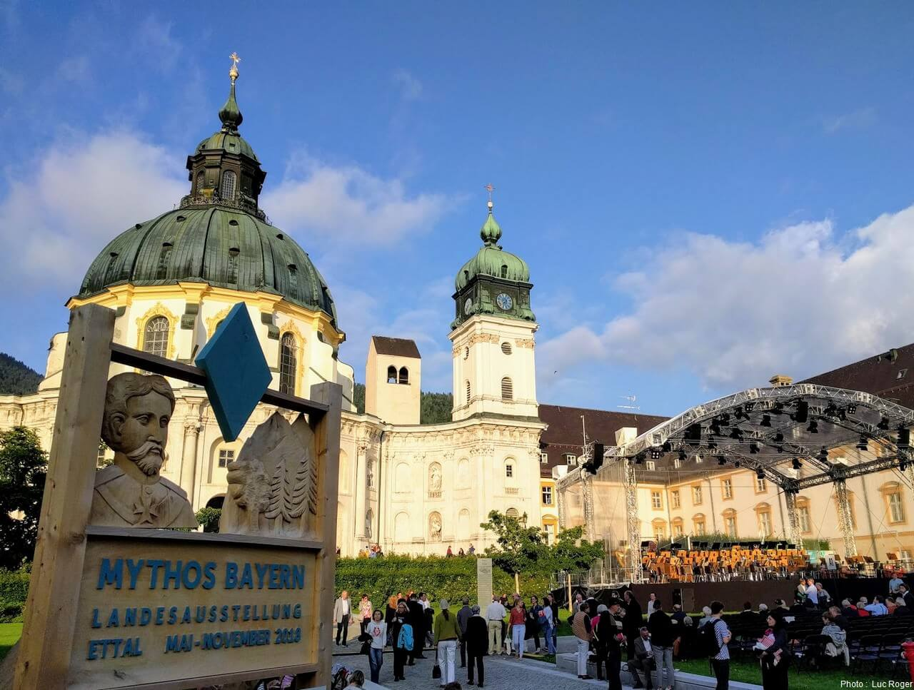 Exposition Mythos Bayern à l'abbaye d'Ettal