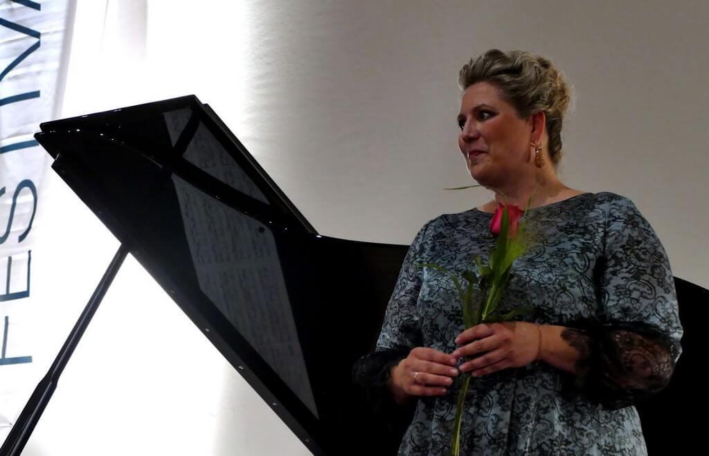Festival Richard strauss à Garmisch partenkirchen 2018 récital avec Okka von der Damerau