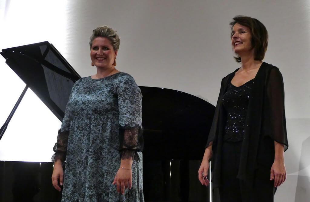 Festival Richard strauss à Garmisch partenkirchen 2018 récital d'Okka von der Damerau et Karola Theill