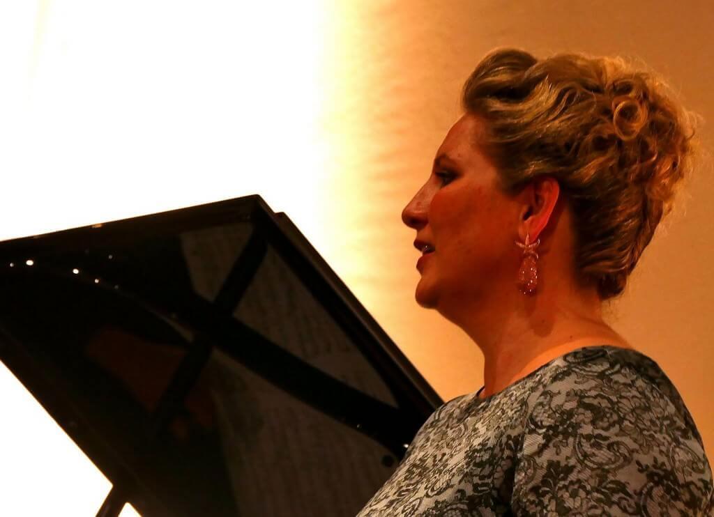 Festival Richard strauss à Garmisch partenkirchen 2018 récital de Okka von der Damerau