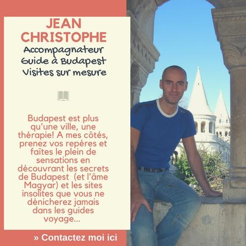 Jean Christophe guide privé à Budapest