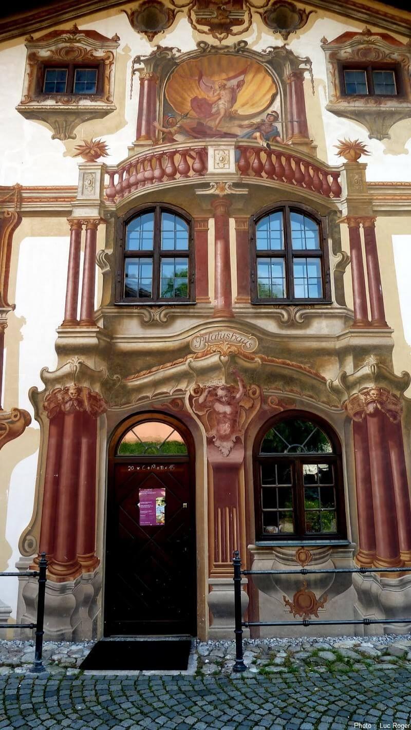 Oberammergau peintures murales