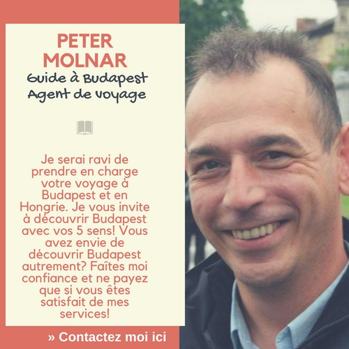 Peter Molnar guide francophone en Hongrie à budapest