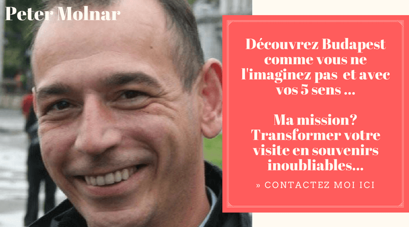 Peter Molnar visite de Budapest avec un guide