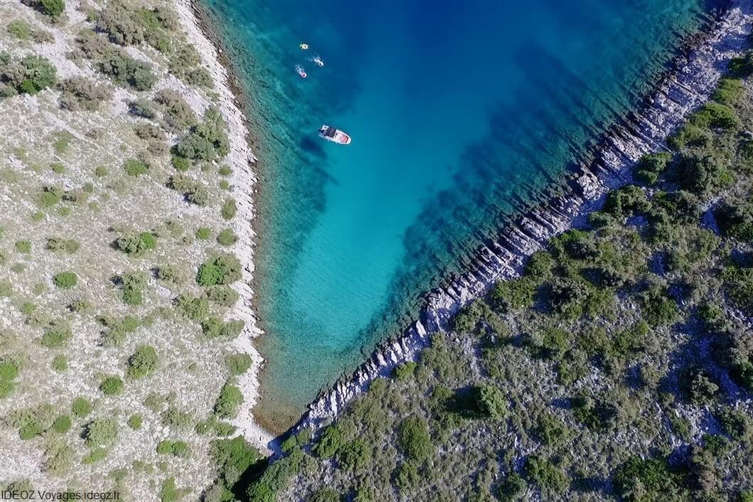 criques de l'archipel de zadar