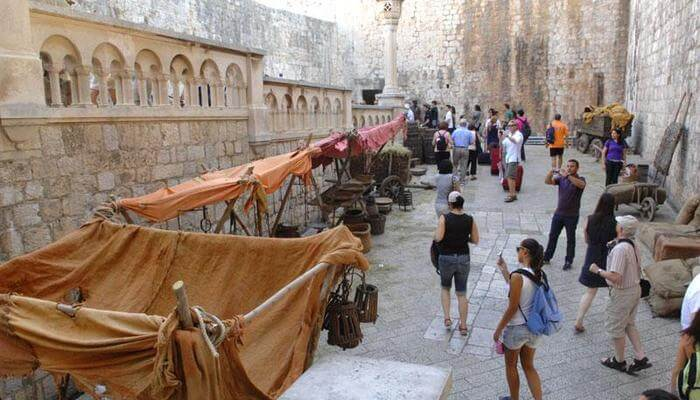 dubrovnik lieux de tournage de game of thrones