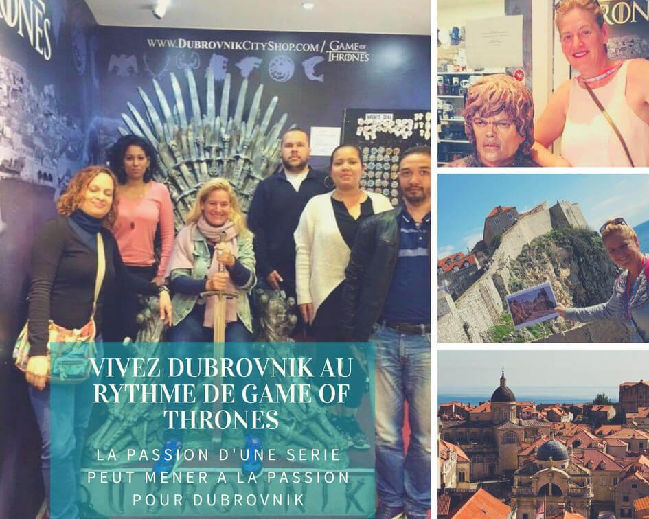 visite guidée game of thrones à Dubrovnik avec Femica