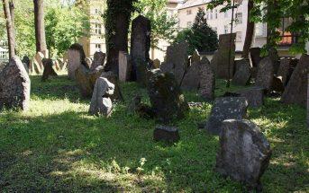 vieux cimetière juif de Prague