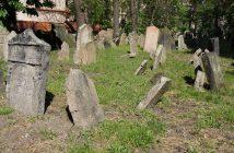vieux cimetière juif de l'ancien ghetto de Prague
