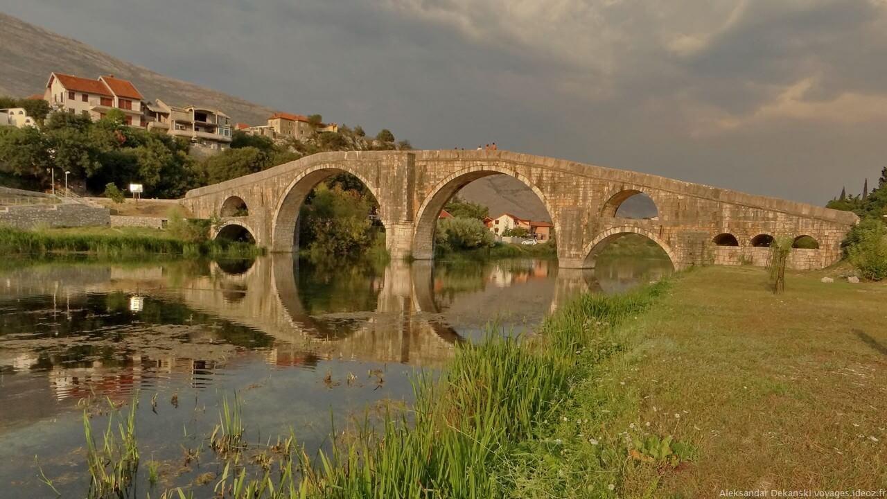 Arslanagica most sur la rivière Trebisnjica à Trebinje