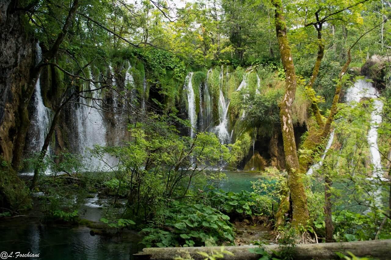 Chutes sur les lacs supérieurs de Plitvice