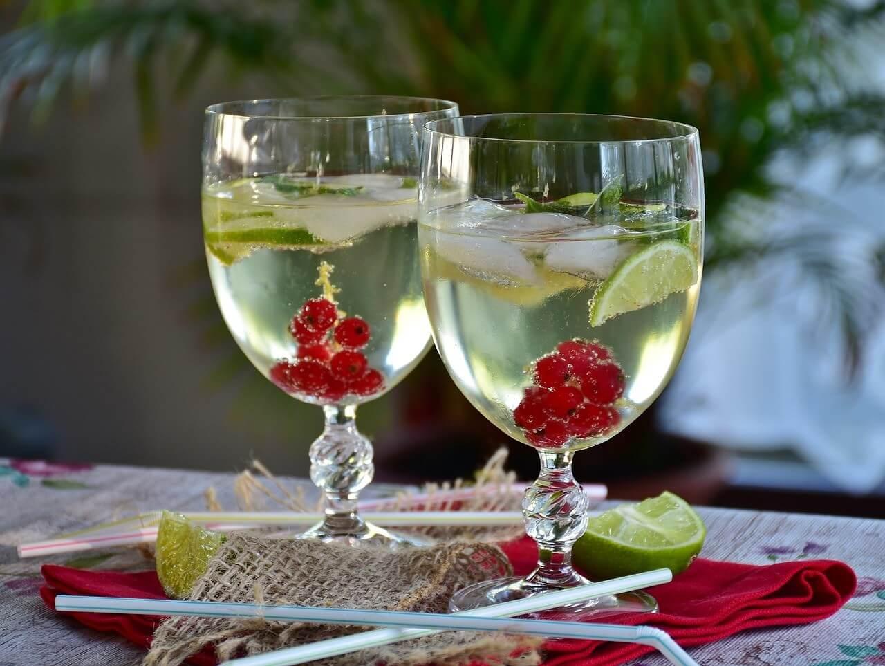 Cocktail Hugo spritz blanc autrichien