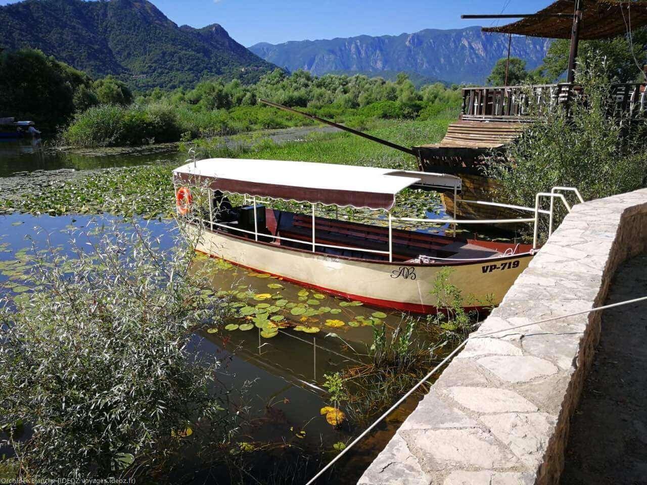 Croisière sur le lac Skadar au Montenegro