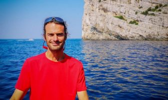 David Maksan skipper dans les îles Kornati
