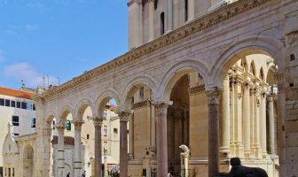 Split vieille ville arcades