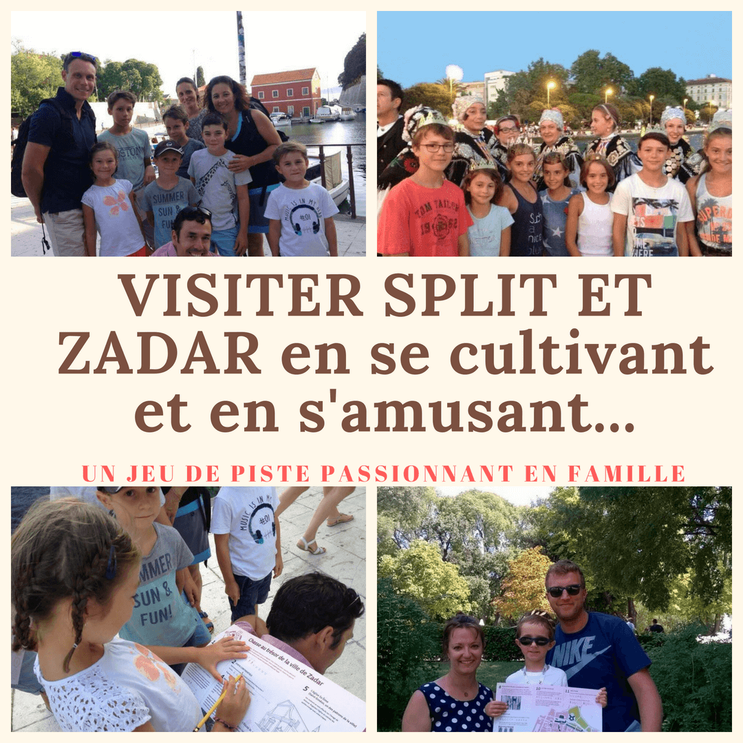 VISITER SPLIT en famille avec un guide francophone