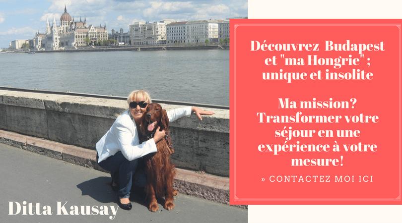 Ditta Kausay guide francophone à budapest et en Hongrie