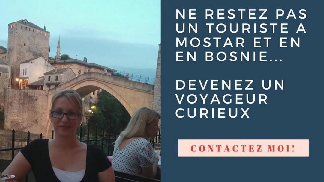 visite guidée à Mostar aux côtés d'Adina
