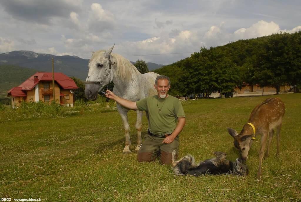 branko sokac avec ses animaux