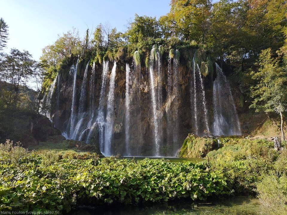 Cascades du lac Gradinsko