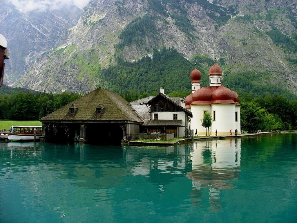 Chapelle Saint Bartholomé Lac Königssee