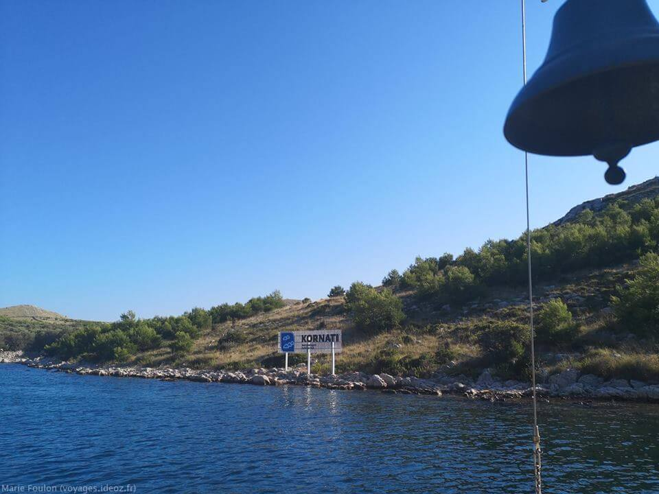 Entrée du parc national des Kornati