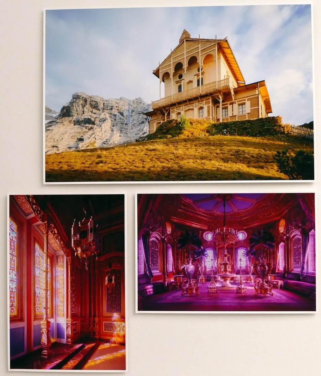 Exposition architecture sous louis ii de bavière chalet schachenhaus
