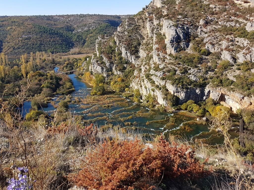 Krka Roski Slap en automne