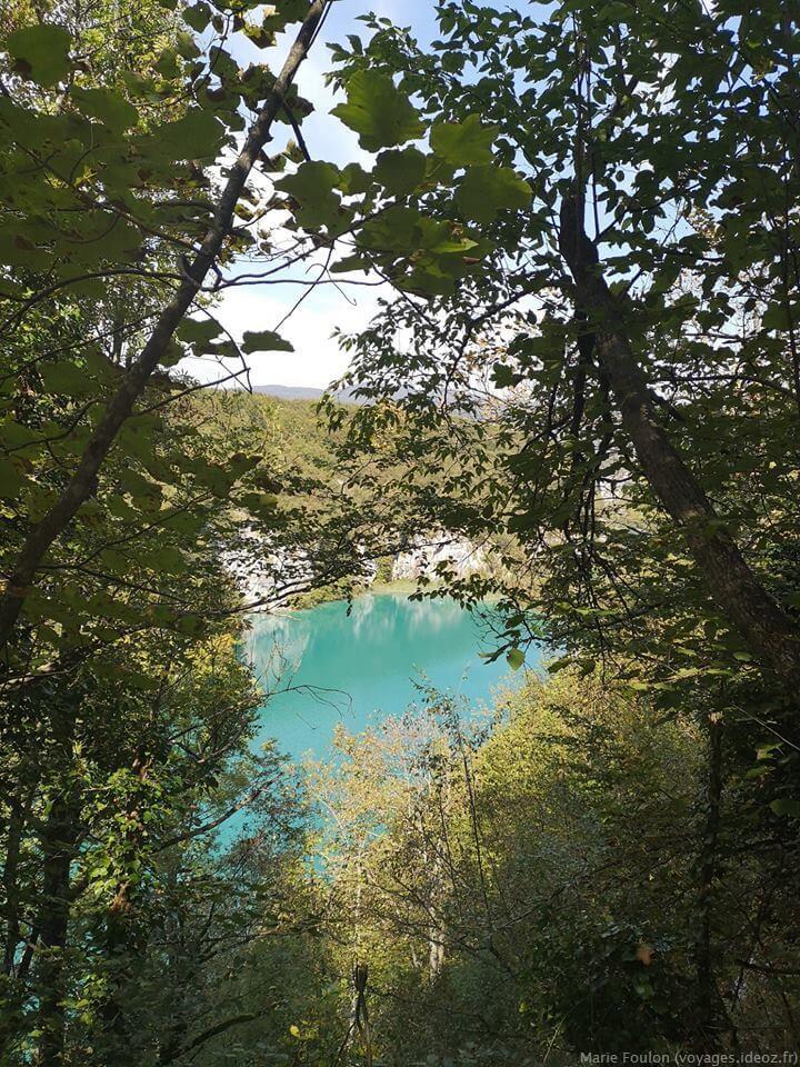 Lac de Plitvice balade dans le parc
