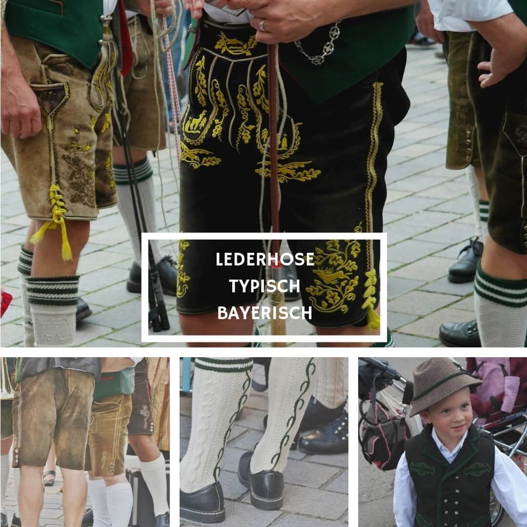Lederhosen pantalon traditionnel des Alpes bavaroises