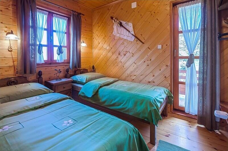 chambre à mrzlin grad à côté de Plitvice