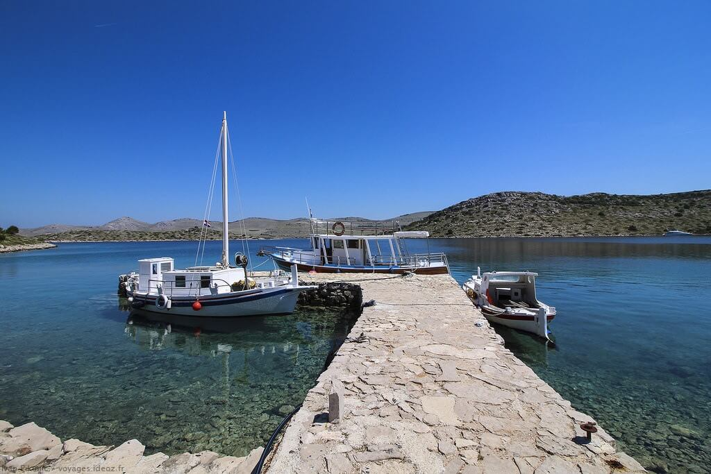 Excursion dans les îles Kornati depuis Zadar en petit bateau avec Ivan ; magique! 13
