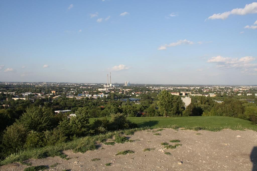 Vue sur Cracovie depuis Plaszow - Photo : Lars K Jensen (flickr)