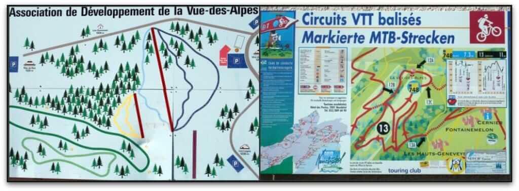 circuit vtt dans le jura suisse