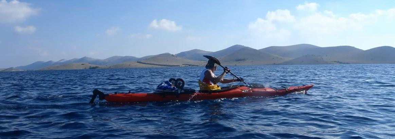 kayak dans les kornati