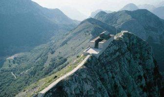 mausolée du Lovcen Montenegro