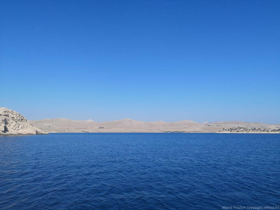 paysages lunaires des iles Kornati