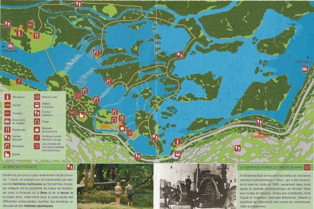 plan skradinski buk à Krka