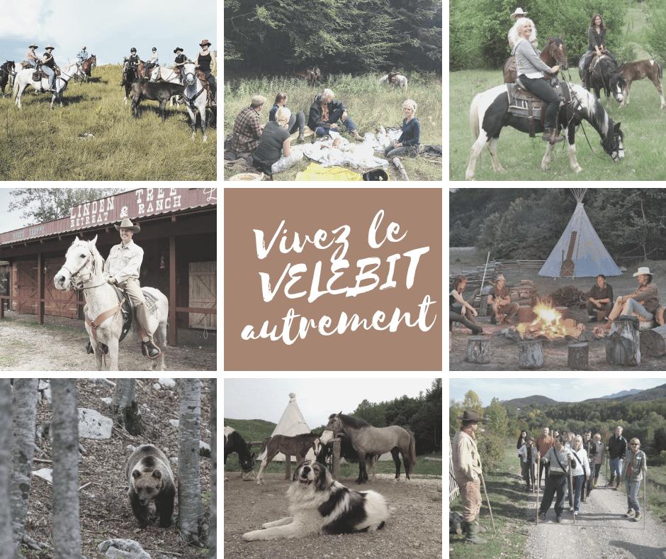 vivez le velebit nord autrement randonnée à cheval et trek dans le Velebit avec Bruce Yerkovitch