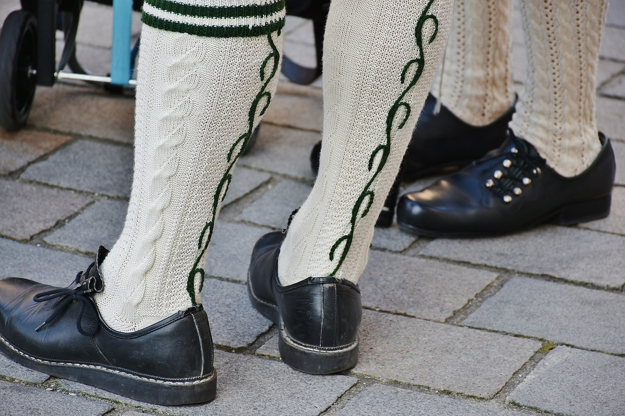 Chaussettes de laine bavaroises